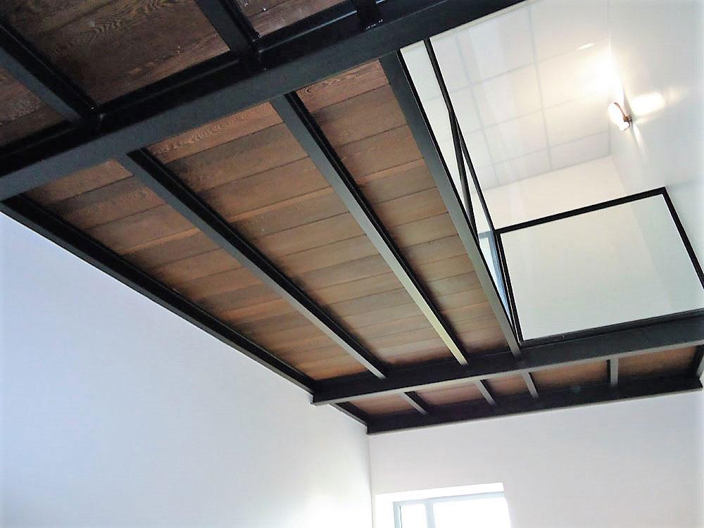 Mezzanine bois métal - METALLERIE MARTIN