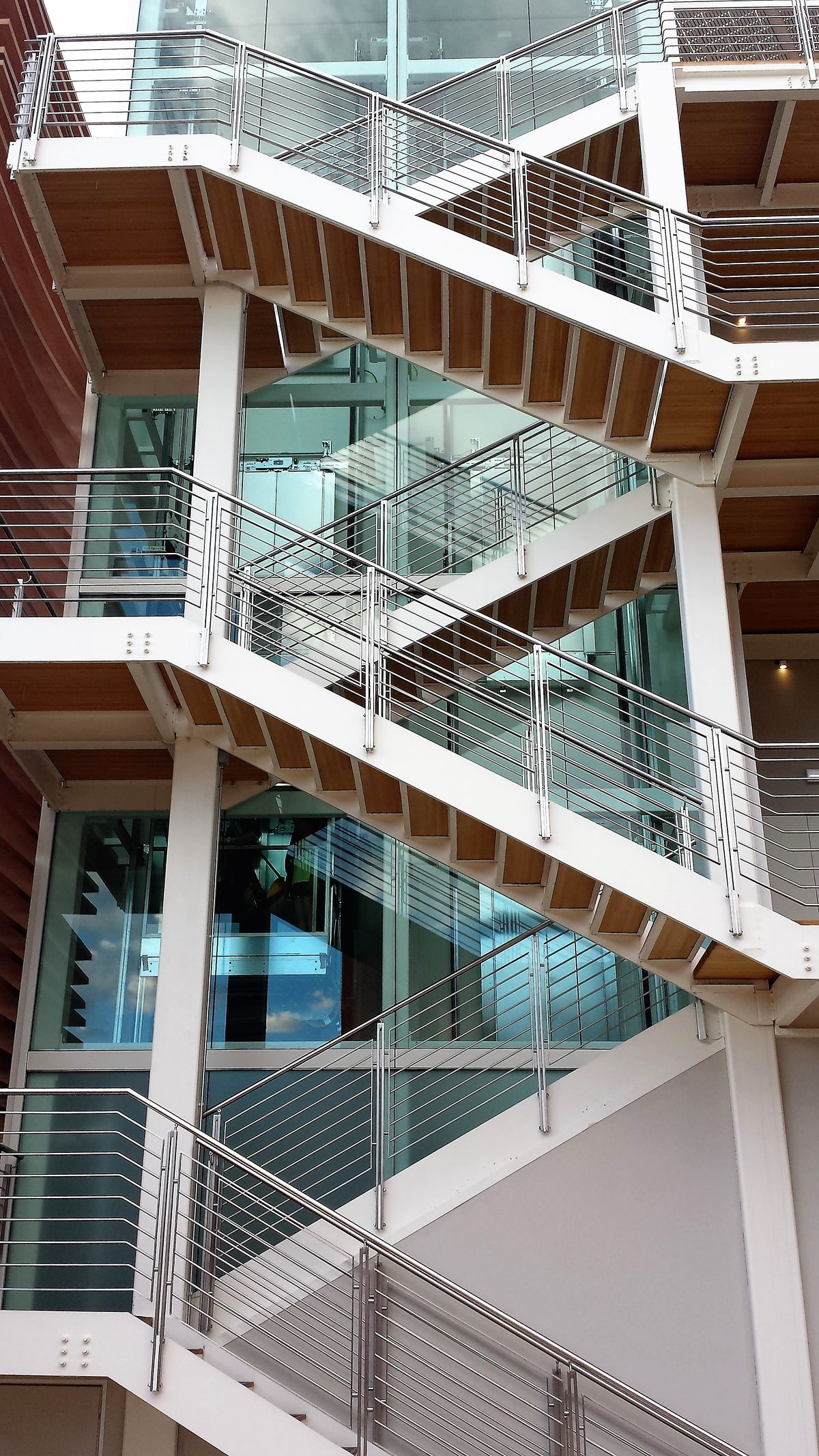Escalier Acces Exterieur Metallerie Martin M Tallerie Martin