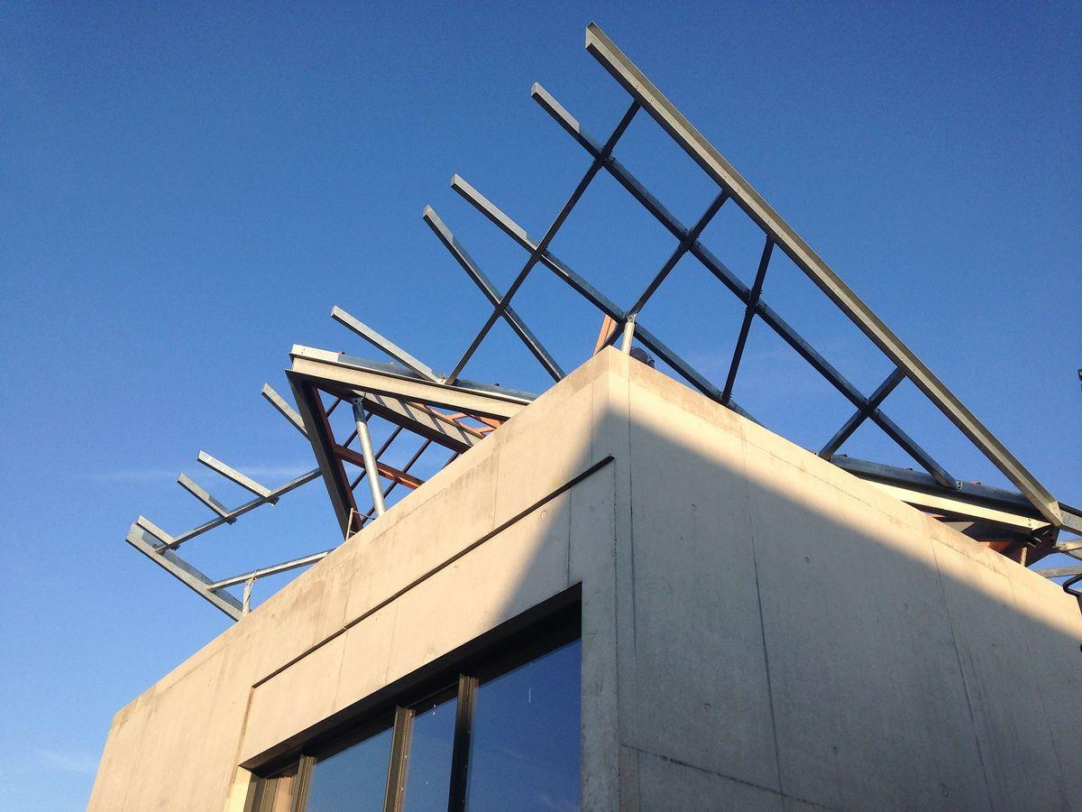charpente metal caillebotis-METALLERIE-MARTIN
