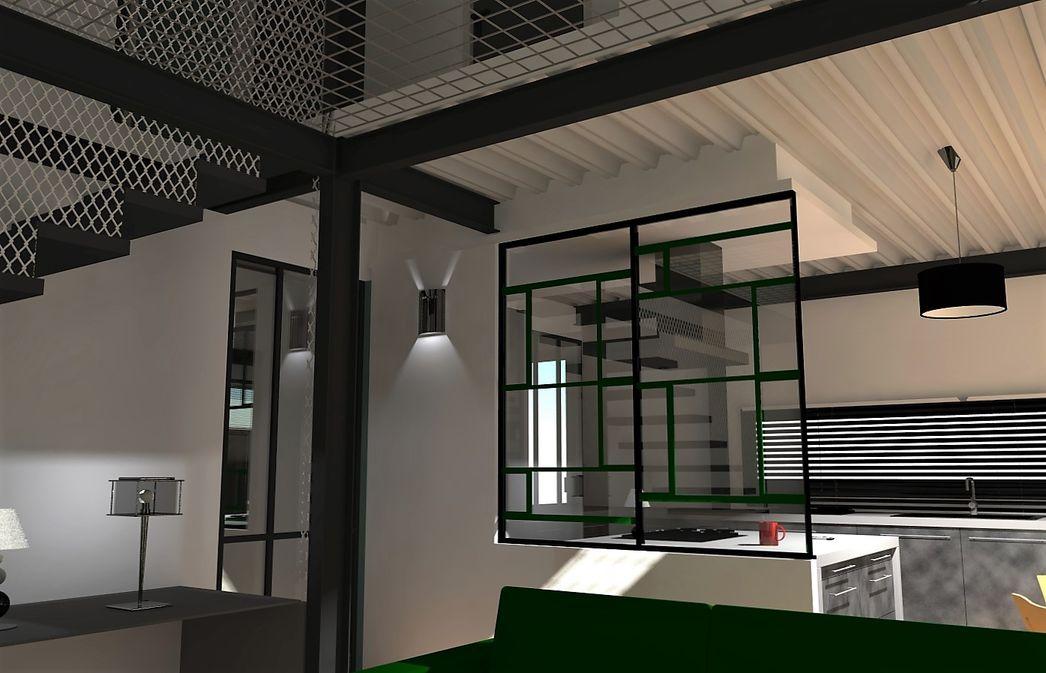 verriere style atelier best verriere intrieure style atelier arrasjpg with verriere style. Black Bedroom Furniture Sets. Home Design Ideas