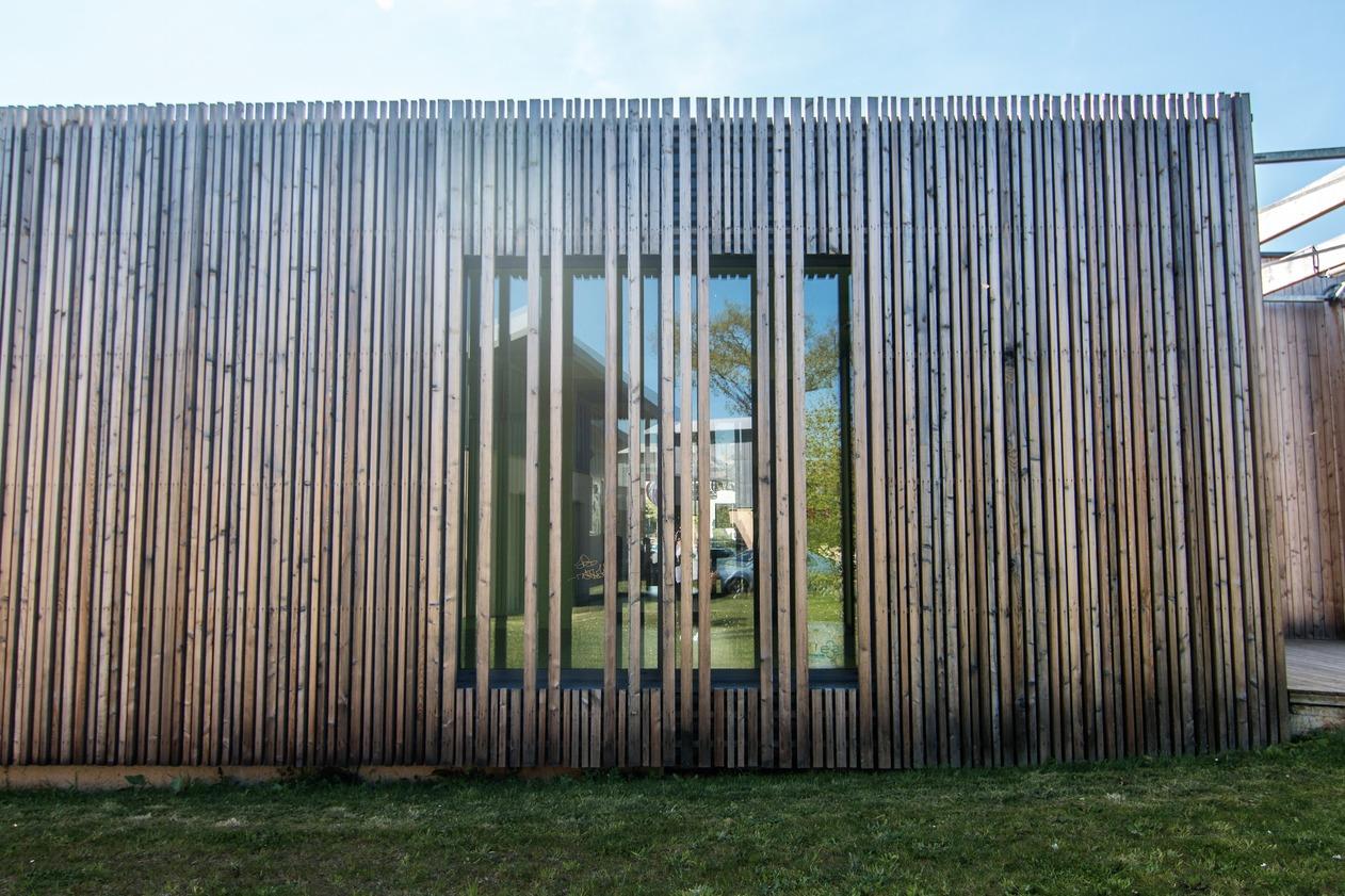 facade bioclimatique Fabrication Métallerie Martin