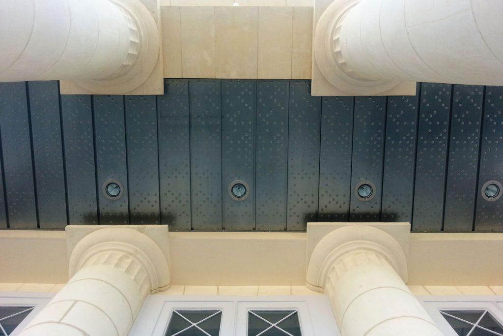 Plafond métallique - METALLERIE MARTIN