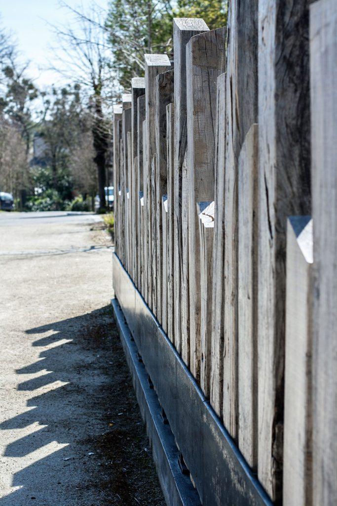 Barriere métal bois - METALLERIE MARTIN
