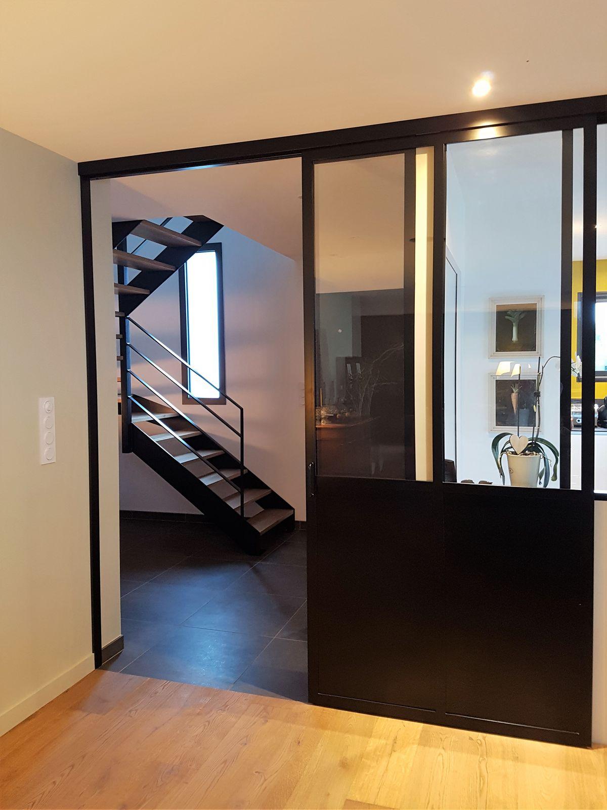verri re interieure sur mesure m tallerie martin. Black Bedroom Furniture Sets. Home Design Ideas